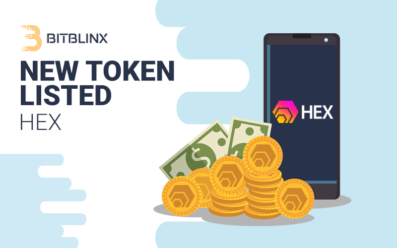 HEX Token – Listed against BTC and ETH