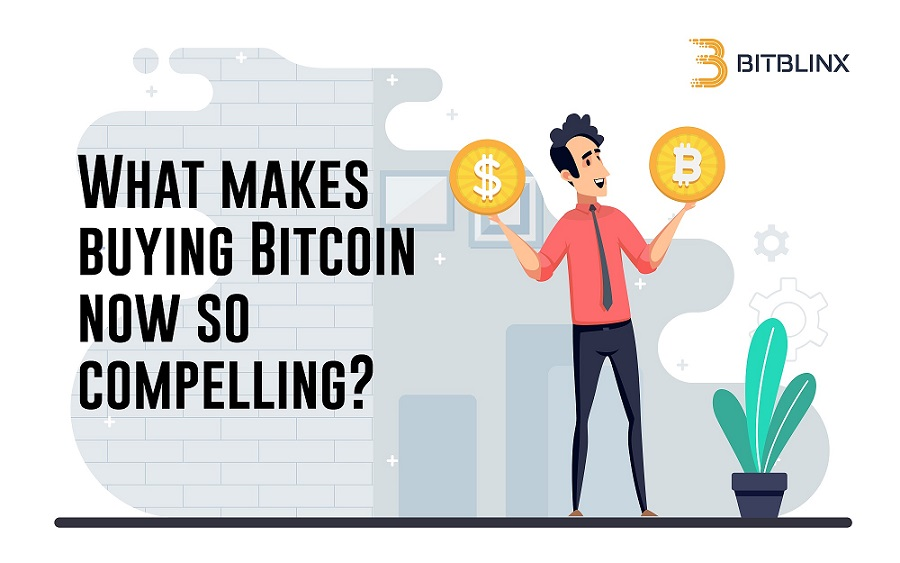 What makes buying Bitcoin now so compelling?